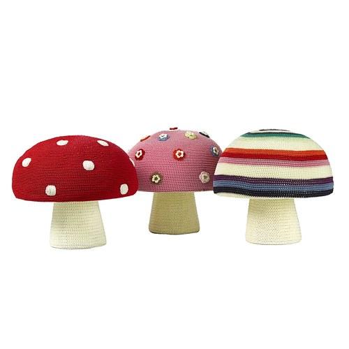 荷蘭ACP 花朵蘑菇椅凳
