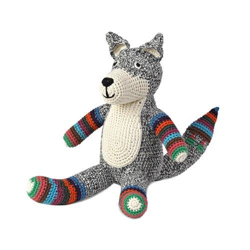 荷蘭ACP 條紋襪狐狸玩偶