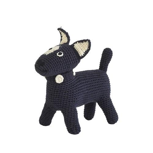 荷蘭ACP 黑色梗犬玩偶 (小)