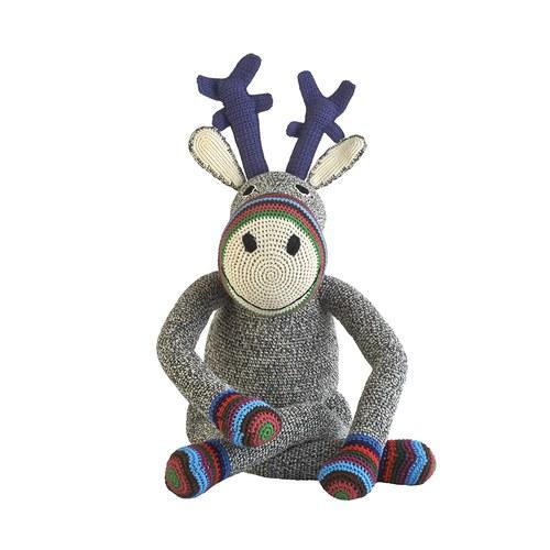 荷蘭ACP 條紋襪麋鹿玩偶
