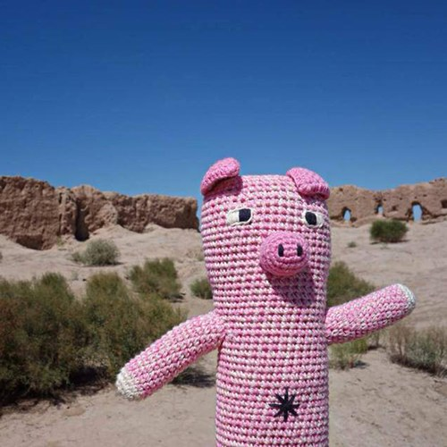 荷蘭ACP 粉紅小豬玩偶