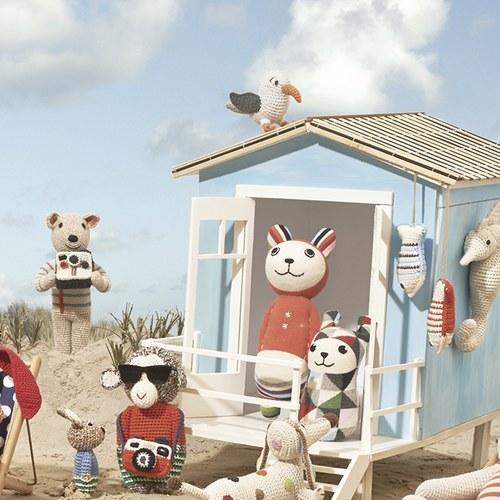荷蘭ACP 彩虹條紋瑪麗貓玩偶