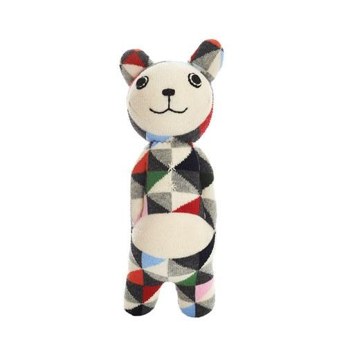 荷蘭ACP 繽紛格紋瑪麗貓玩偶