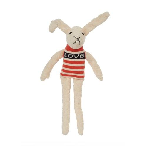 荷蘭ACP 彩虹條紋蘿拉兔玩偶