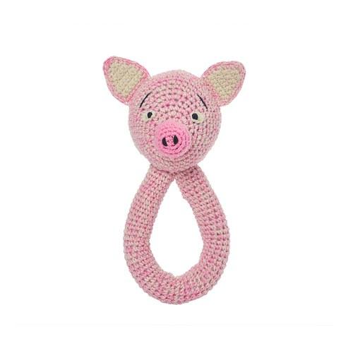 荷蘭ACP 粉紅小豬拉手環