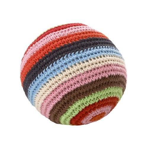 荷蘭ACP 彩虹條紋鈴鐺玩具球