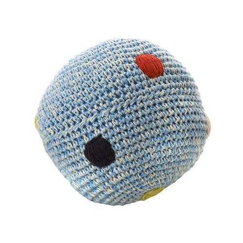 荷蘭ACP 藍色點點鈴鐺玩具球