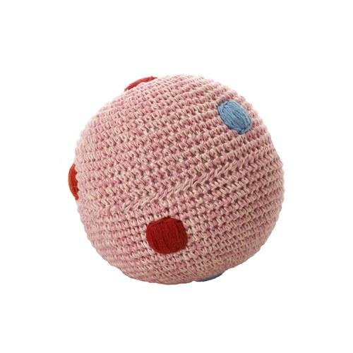 荷蘭ACP 粉色點點鈴鐺玩具球