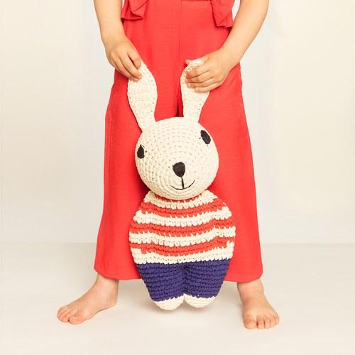荷蘭ACP 紅條紋毛衣媽媽兔玩偶