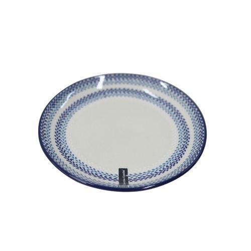 荷蘭BunzlauCastle 葉片圖紋陶盤 (直徑20公分)
