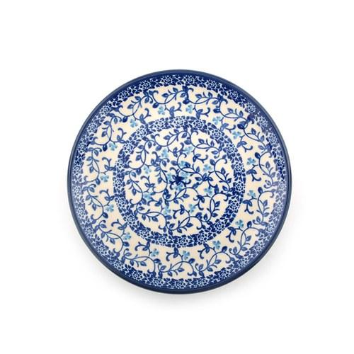 荷蘭BunzlauCastle 青花瓷圖紋蛋糕盤 (直徑16公分)