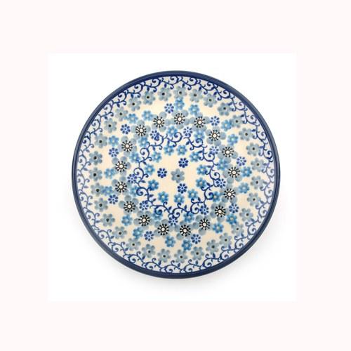 荷蘭BunzlauCastle 冬季花園圖紋蛋糕盤 (直徑16公分)