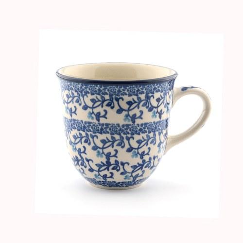 荷蘭BunzlauCastle 青花瓷圖紋鬱金香馬克杯
