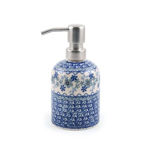 荷蘭BunzlauCastle 東方青花瓷圖紋沐浴乳罐