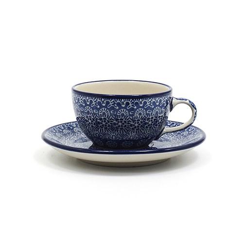 荷蘭BunzlauCastle 古典蕾絲圖紋午茶杯盤組 (200毫升)