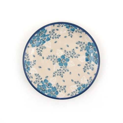 荷蘭BunzlauCastle 霜花圖紋蛋糕盤 (直徑12.3公分)