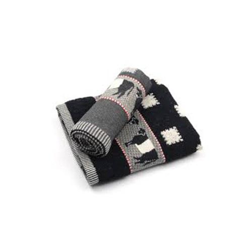 荷蘭BunzlauCastle 黑色乳牛圖紋茶巾