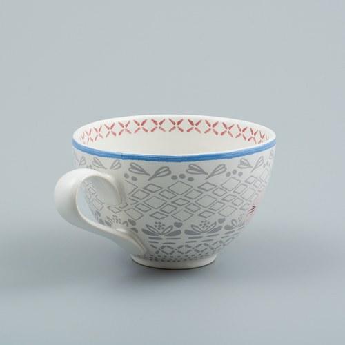 荷蘭FloraCastle 多色花束圖紋咖啡杯 (310毫升)