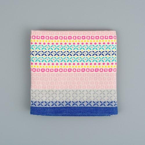 荷蘭FloraCastle 灰色幾何花紋茶巾