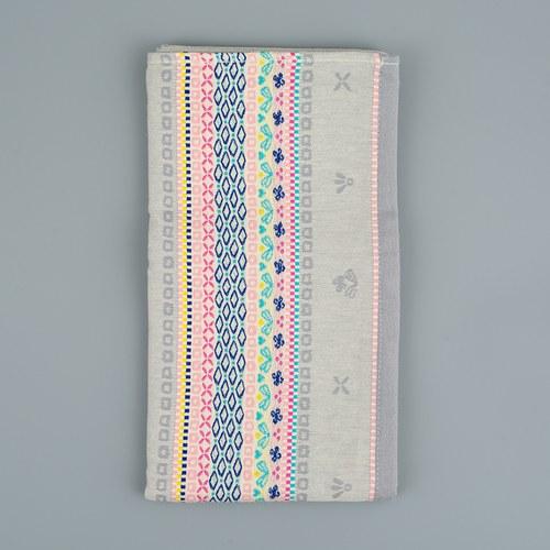 荷蘭FloraCastle 灰色點綴花紋桌巾