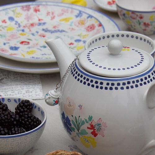 荷蘭FloraCastle 木製茶壺吊飾濾茶器