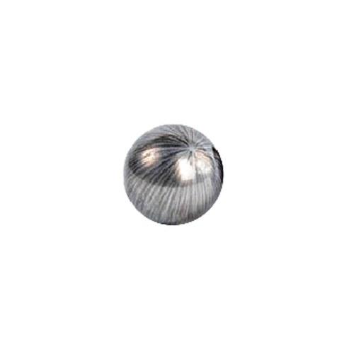 比利時DVDsign藝術擺飾 色澤球飾 (細線暖銀)