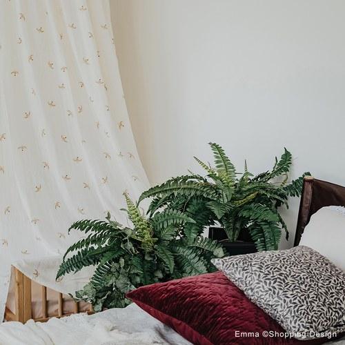 荷蘭Emerald人造植栽 深綠色羊齒蕨 (無盆、48葉)