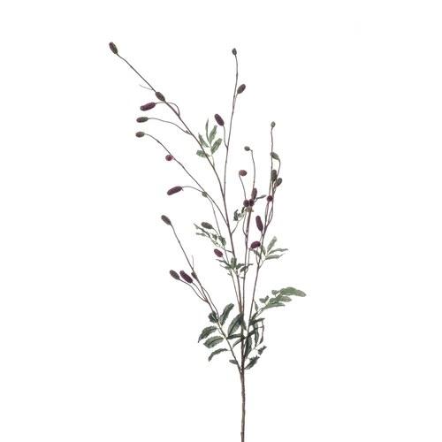 荷蘭Emerald人造植物 酒紅色藍莓花