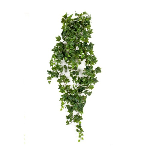 荷蘭Emerald人造植物 深綠色垂懸長春藤 (長180公分)