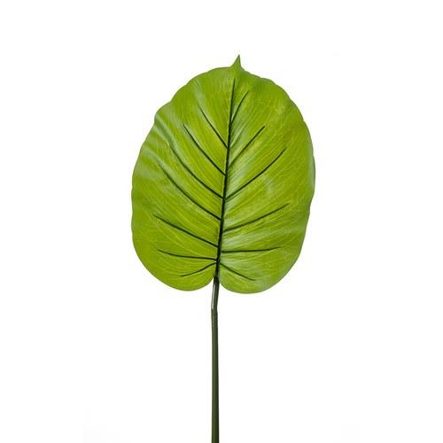 荷蘭Emerald人造植物 姑婆芋綠植葉片 (長73公分)