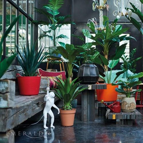 荷蘭Emerald人造植栽 蠍尾蕉葉 (高125公分)