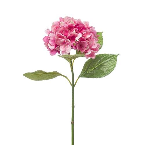 荷蘭Emerald人造花藝 粉紅色繡球花 (長67公分)