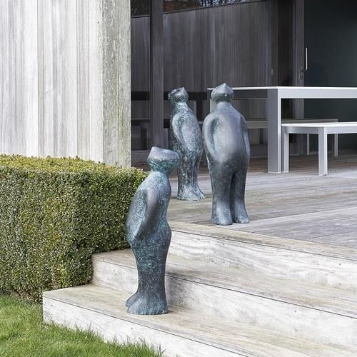 比利時Gardeco藝術擺飾經典觀賞者 (青銅、高75公分)