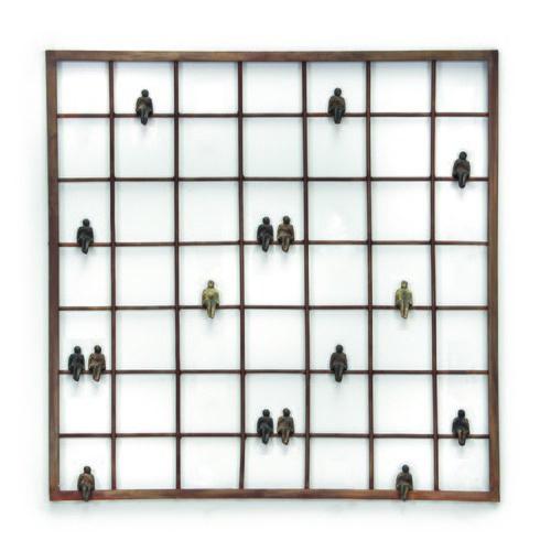 比利時Gardeco藝術擺飾方型窗沿風景