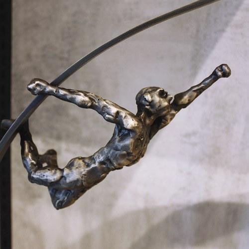 比利時Gardeco藝術擺飾 圓環間的舞動