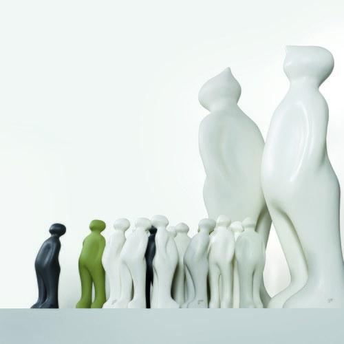 比利時Gardeco藝術擺飾 經典觀賞者 (墨灰、高23公分)