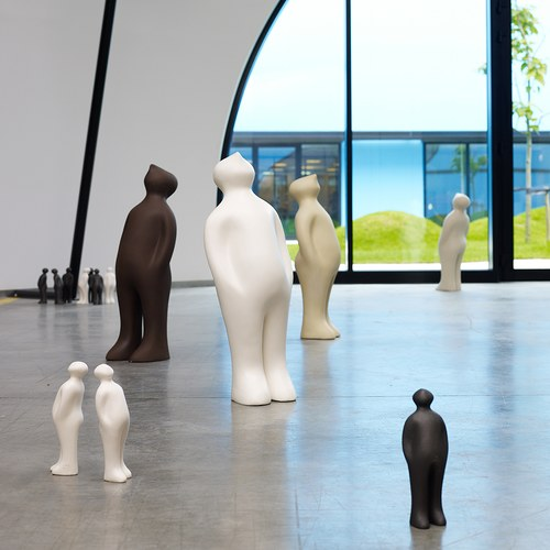比利時Gardeco藝術擺飾 經典觀賞者 (黑咖啡、高23公分)