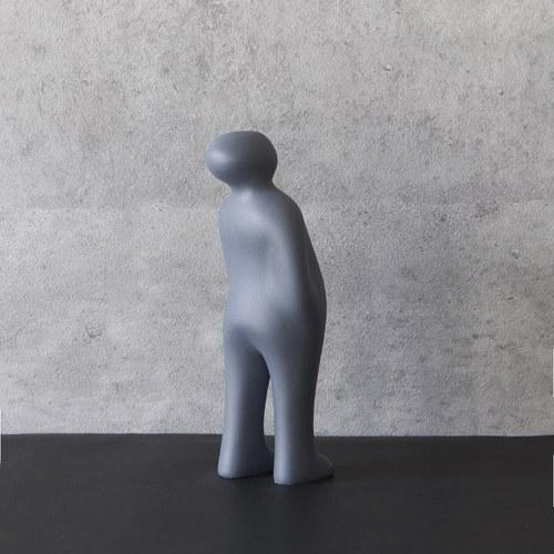 比利時Gardeco藝術擺飾 經典觀賞者 (藍、高23公分)