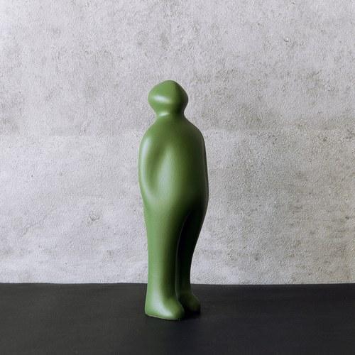 比利時Gardeco藝術擺飾 經典觀賞者 (綠、高23公分)
