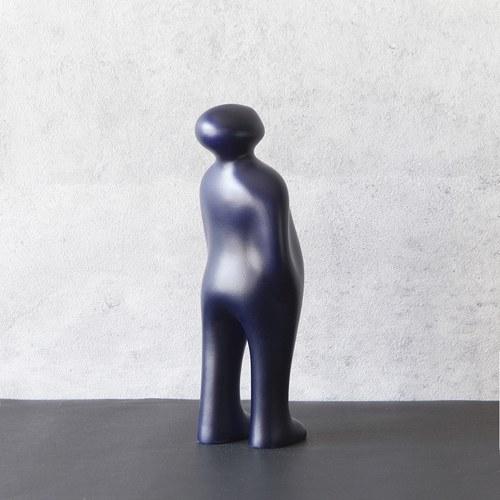 比利時Gardeco藝術擺飾 經典觀賞者 (墨黑、高23公分)