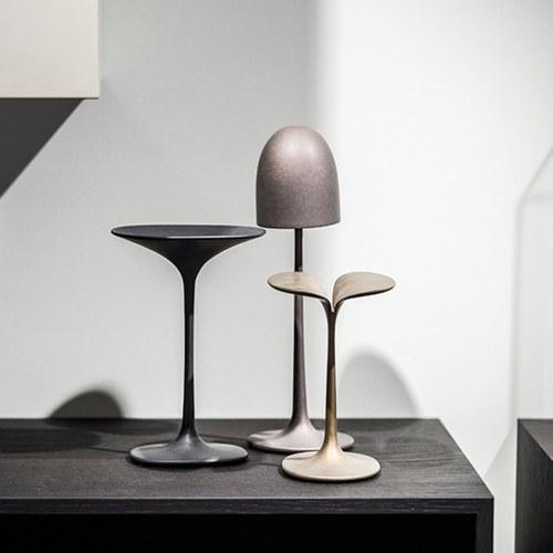 比利時Gardeco藝術擺飾圓頂金屬蘑菇
