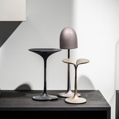 比利時Gardeco藝術擺飾扇形金屬蘑菇