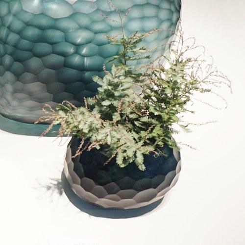 德國Guaxs玻璃花器 SOMBA系列 (洋藍、高12公分)