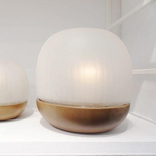 德國Guaxs玻璃燭台 NAMSAM系列 (霧白、高33公分)
