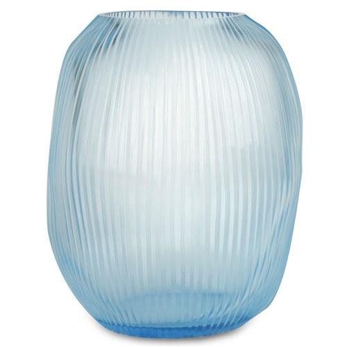 德國Guaxs玻璃花器 NAGAA系列  (天空藍、高28公分)