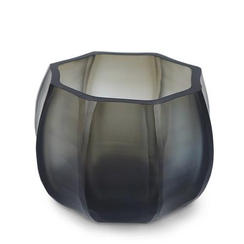 德國Guaxs玻璃燭台 KOONAM系列 (灰褐、高8公分)