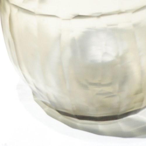 德國Guaxs玻璃燭台 MALIA系列 (煙燻褐、高10公分)