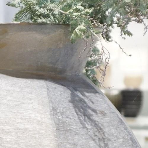 德國Guaxs玻璃花器 KARAKOL系列 (煙燻灰、高51公分)