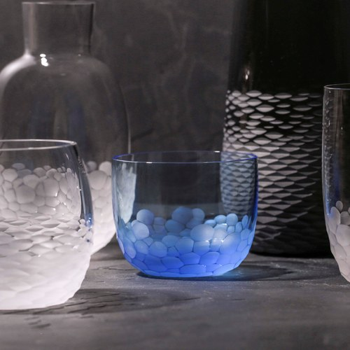 德國Guaxs玻璃水杯 OTTILIE系列 (水藍、170毫升)