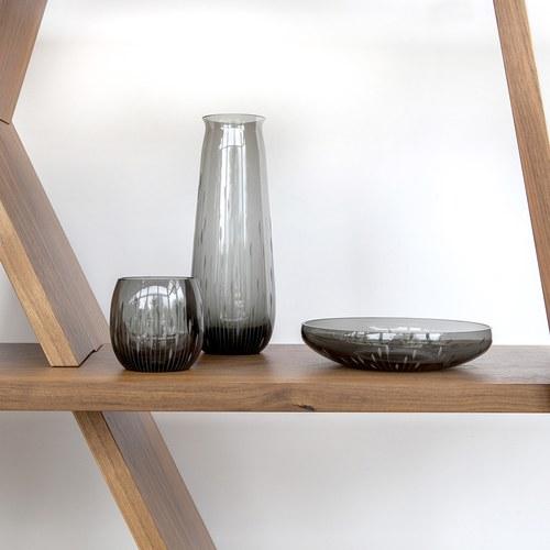 德國Guaxs玻璃水瓶 ANDAURAY系列 (灰、1000毫升)